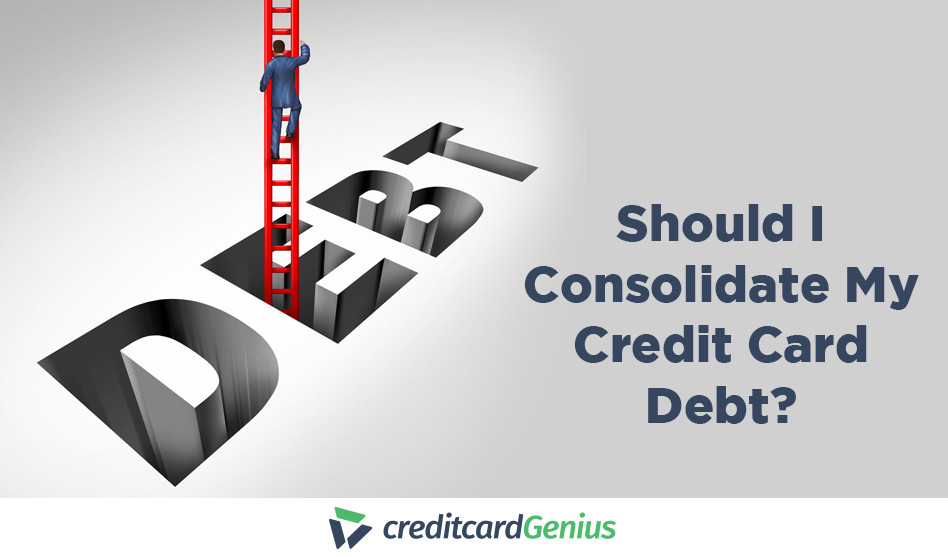 Should I Consolidate My Credit Card Debt?